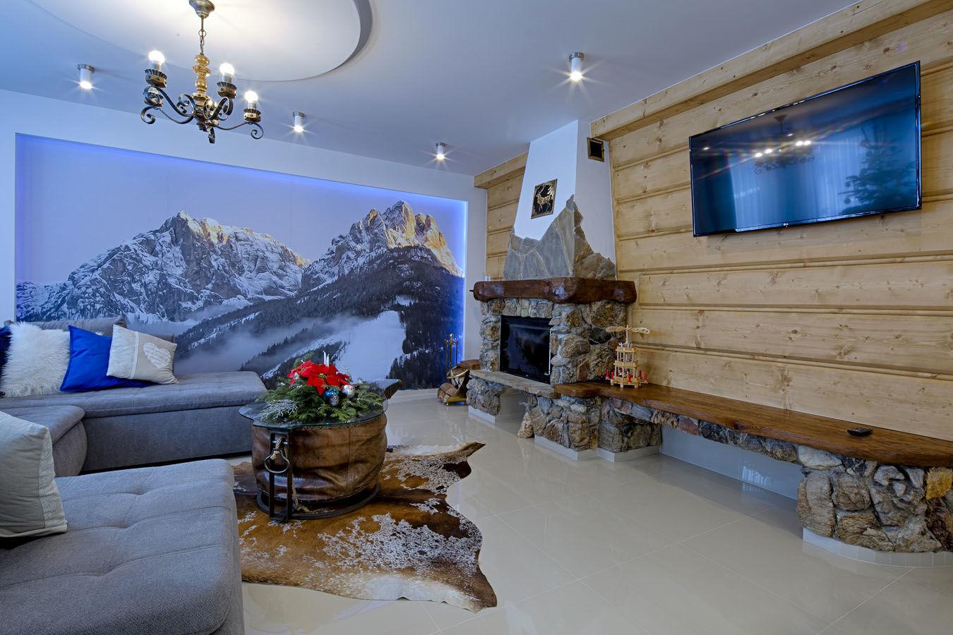 Widok na góry znajdziesz w Gordonówka Apartamenty & SPA Szaflary