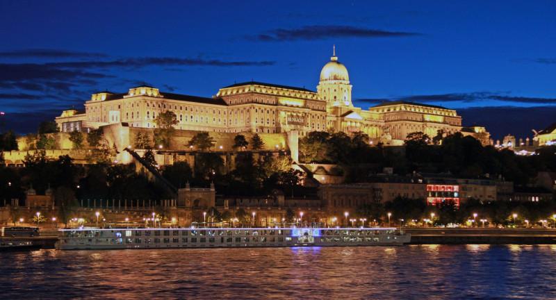 Zamek Krolewski w Budapeszcie Wikimedia Commons
