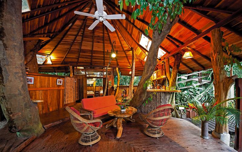 04 Tree House Lodge Kostaryka