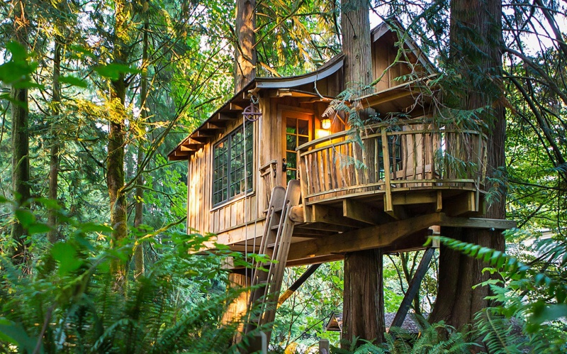 05 TreeHouse Point Stany Zjednoczone