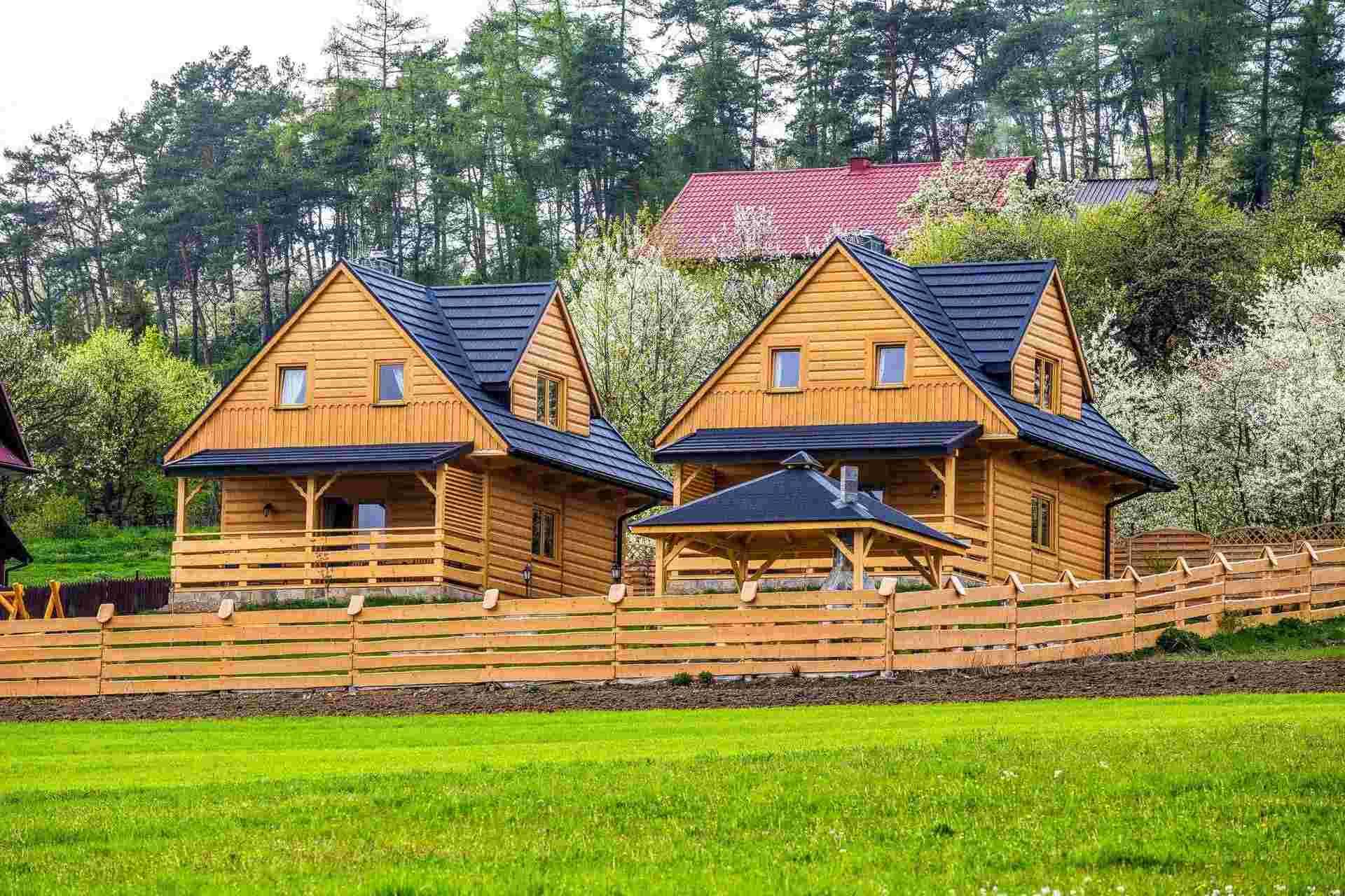 TOP 6. Domki Pod Kuźnią. Magiczne domki drewniane