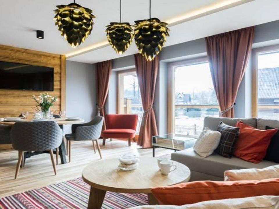 Rezydencja Zakopiańska - stylowy wystrój i urzekający widok na góry