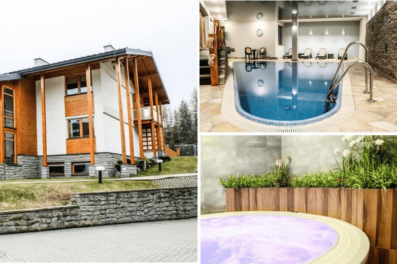 Top 1. Obiekty z bezpłatnym SPA Zakopane - Apartamenty Viva Maria Residence Zakopane