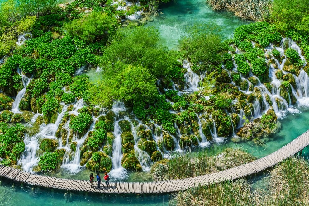 Chorwacja wakacje - Jeziora PlitwickieChorwacja wakacje - Jeziora Plitwickie
