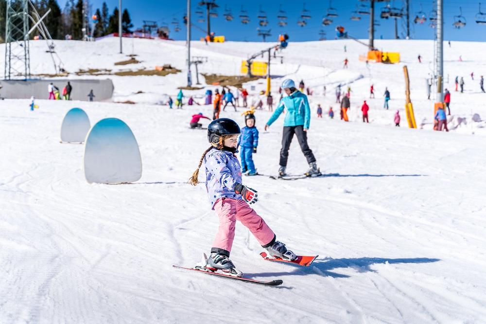 Gdzie na narty z dziećmi w Polsce