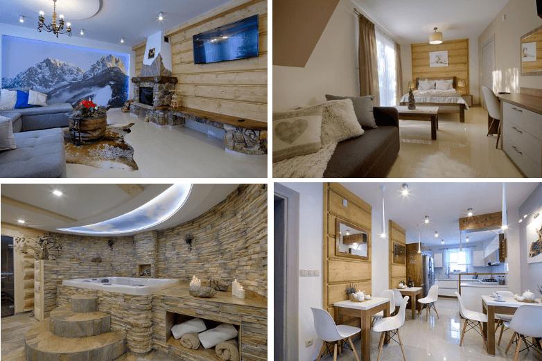 Top 3. Gordonówka Apartamenty & SPA Szaflary - Wyjątkowe miejsce na podróż poślubną w górach