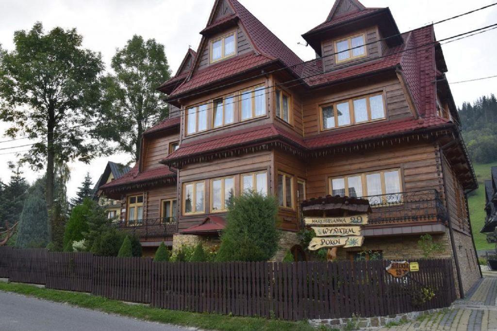 Pensjonat z widokiem na Tatry