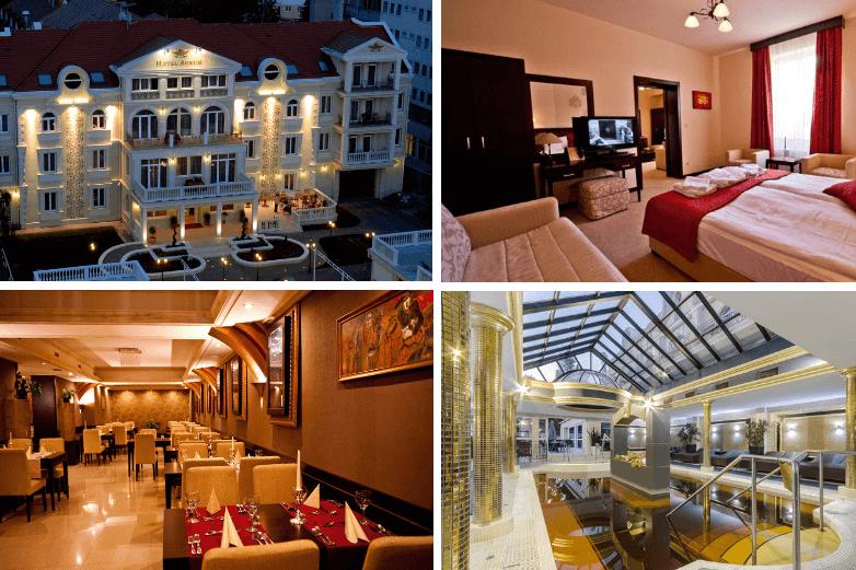 [Top 4] Hajduszoboszlo noclegi z bezpłatnym SPA - Hotel Aurum Hajdúszoboszló****