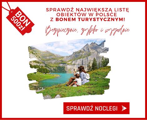 Noclegi.pl to jedyny portal, na którym możesz zapłacić bonem turystycznym online