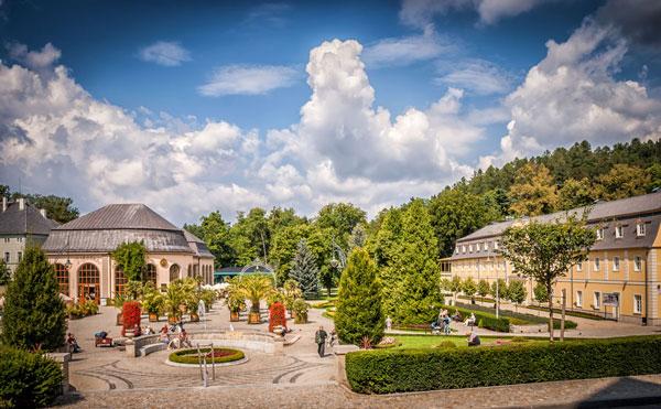 Kudowa-Zdrój atrakcje Park Zdrojowy