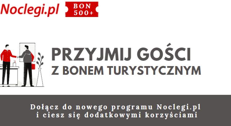 Jak przyjmować płatności Bonem Turystycznym online na portalu Noclegi.pl