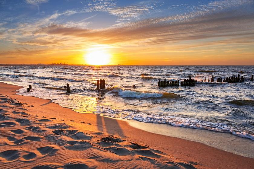 Polskie morze to pomysł, gdzie wykorzystać bon wakacyjny