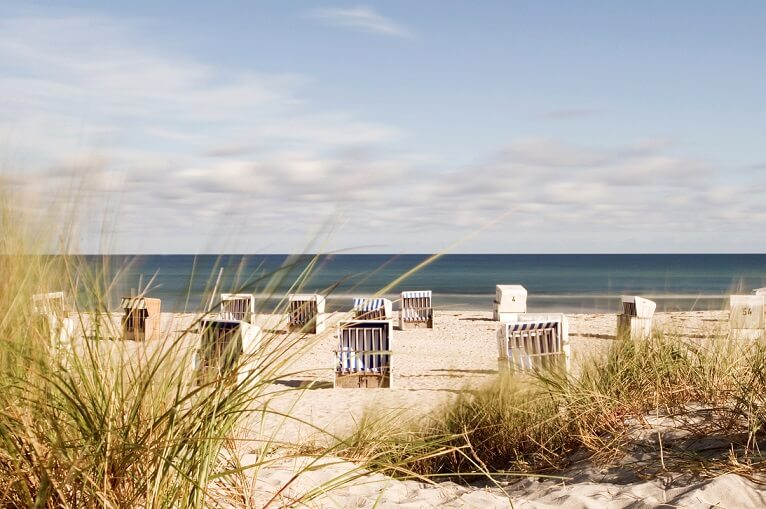 Polskie wybrzeże Bałtyku na lato