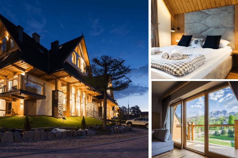 Top. 4 Rezydencja Zakopiańska - Wyjątkowe miejsce na podróż poślubną w górach