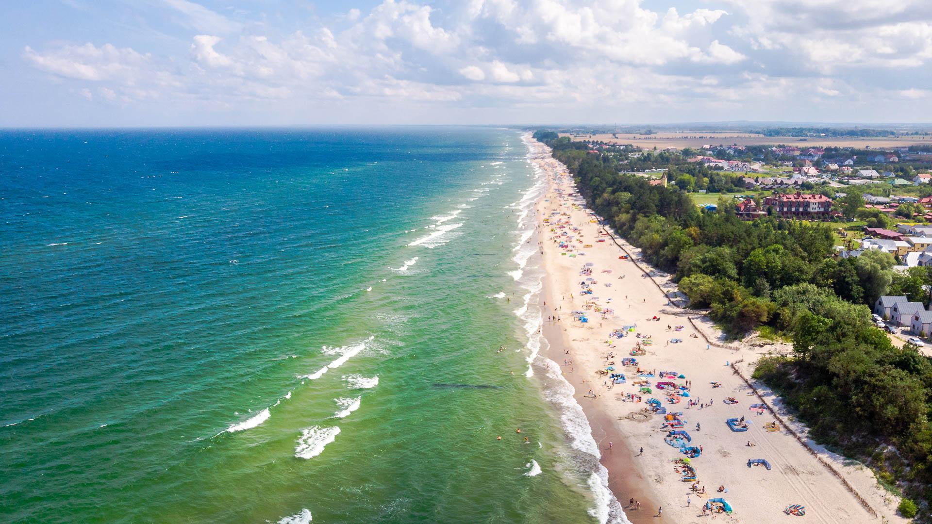Sarbinowo plaża