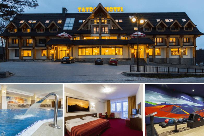 Top 4. Obiekty z bezpłatnym SPA Zakopane - Hotel Tatra Zakopane