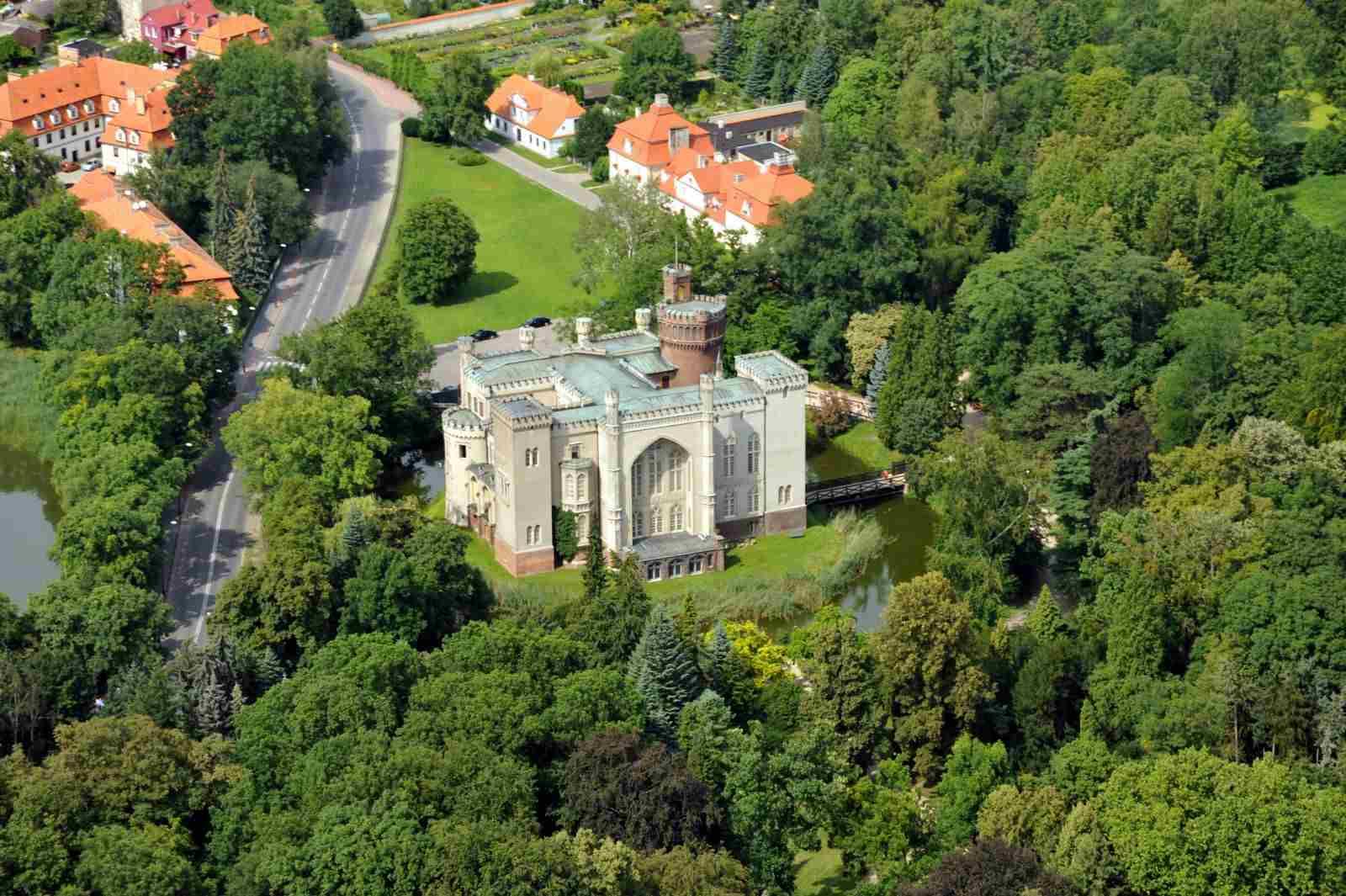 Zamek w Kórniku - ciekawe miejsca w Wielkopolsce