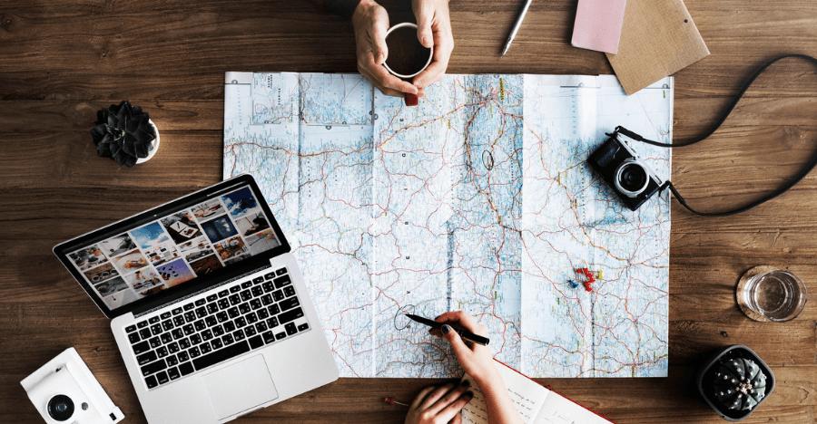 Pomyśl o trasie podróży - Plan podróży