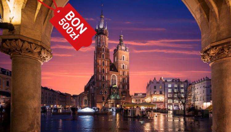 Bon turystyczny Kraków - gdzie pojechać
