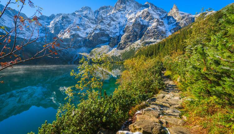 Górskie szlaki w Tatrach