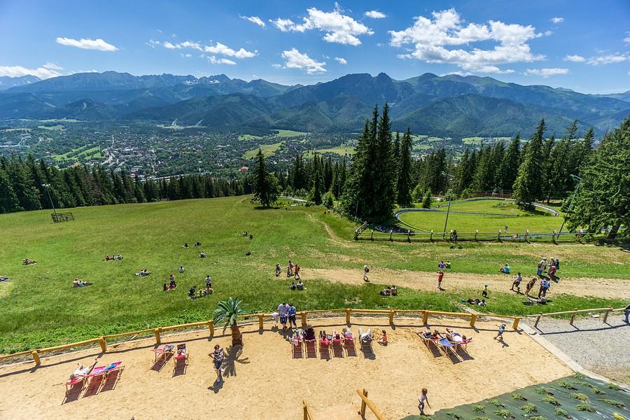 [Gubałówka] Najlepsze atrakcje w Zakopanem/ Fot. Adam Brzoza