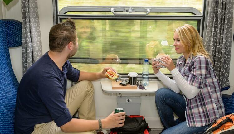 Kanapki - jedzenie w podróży