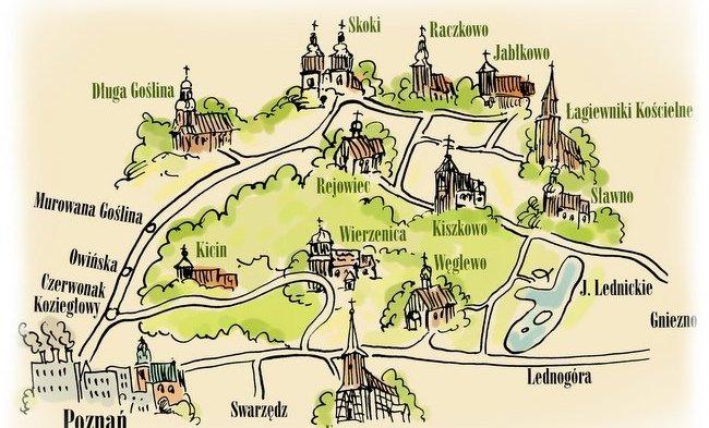 Szlak kościołów - ciekawe miejsca w Wielkopolsce / źródło: www.turystyka.puszcza-zielonka.pl
