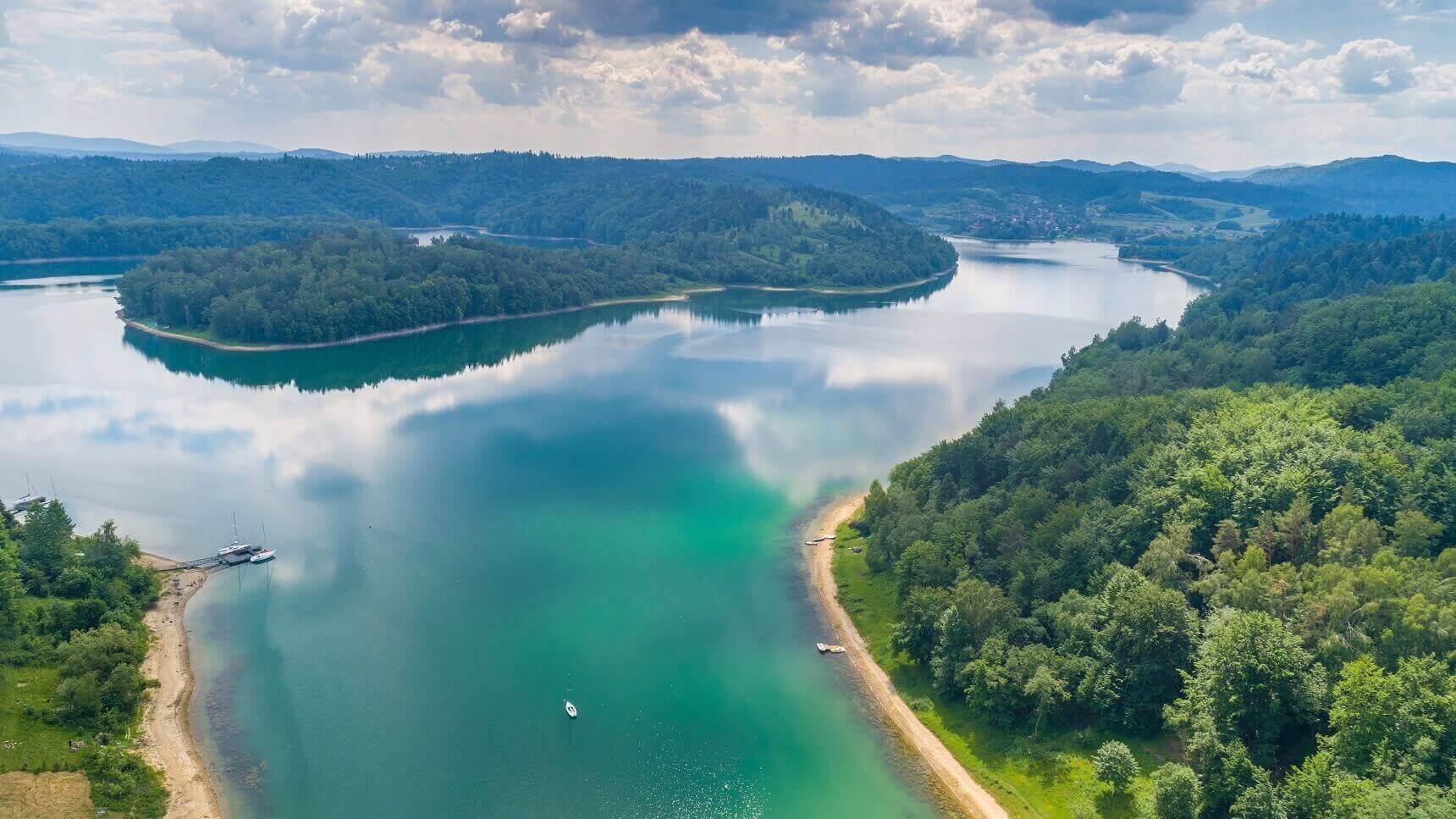 Najciekawsze atrakcje Podkarpacia - Jezioro Solińskie