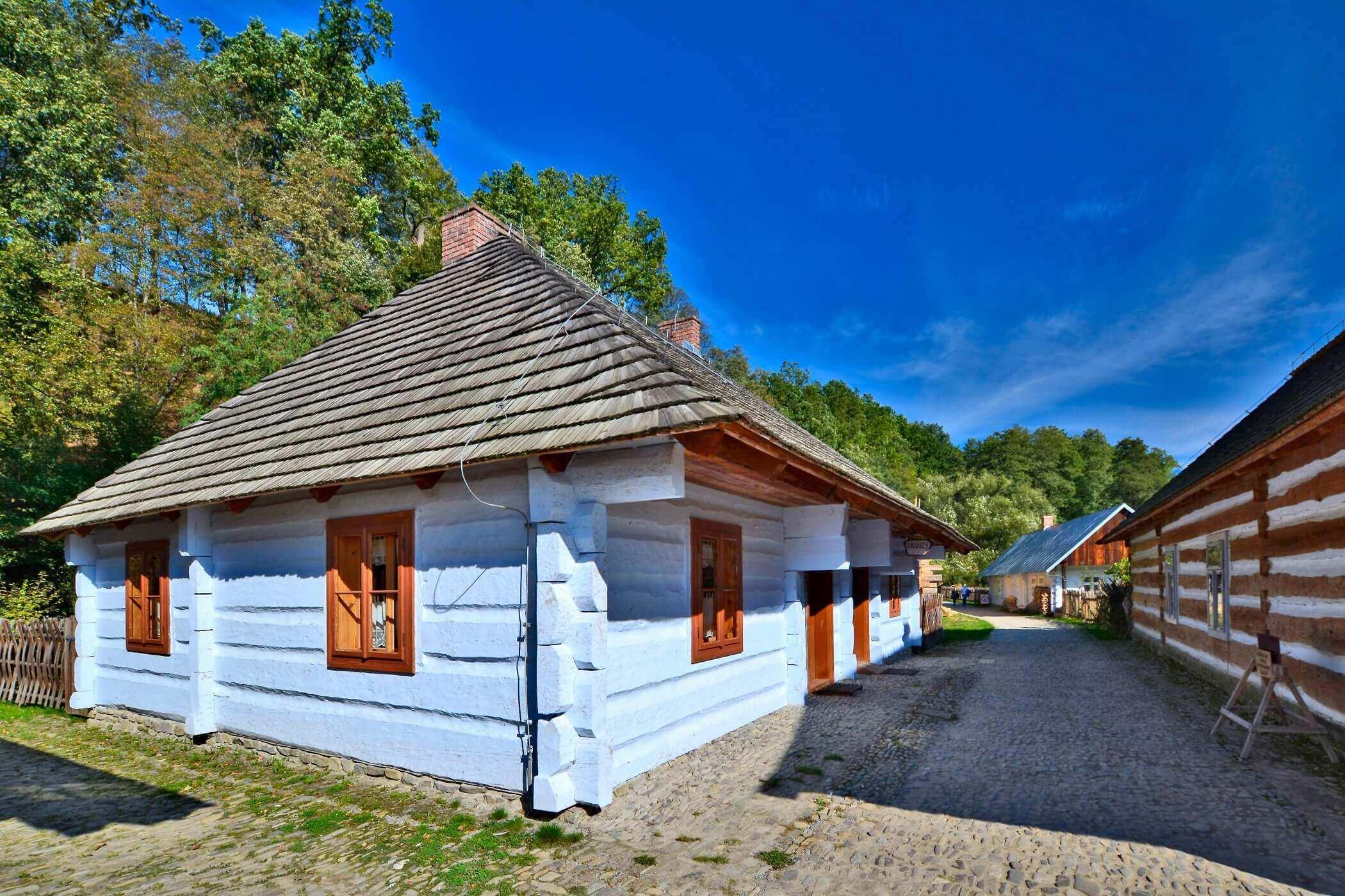 Najciekawsze atrakcje Podkarpacia - Skansen w Sanok