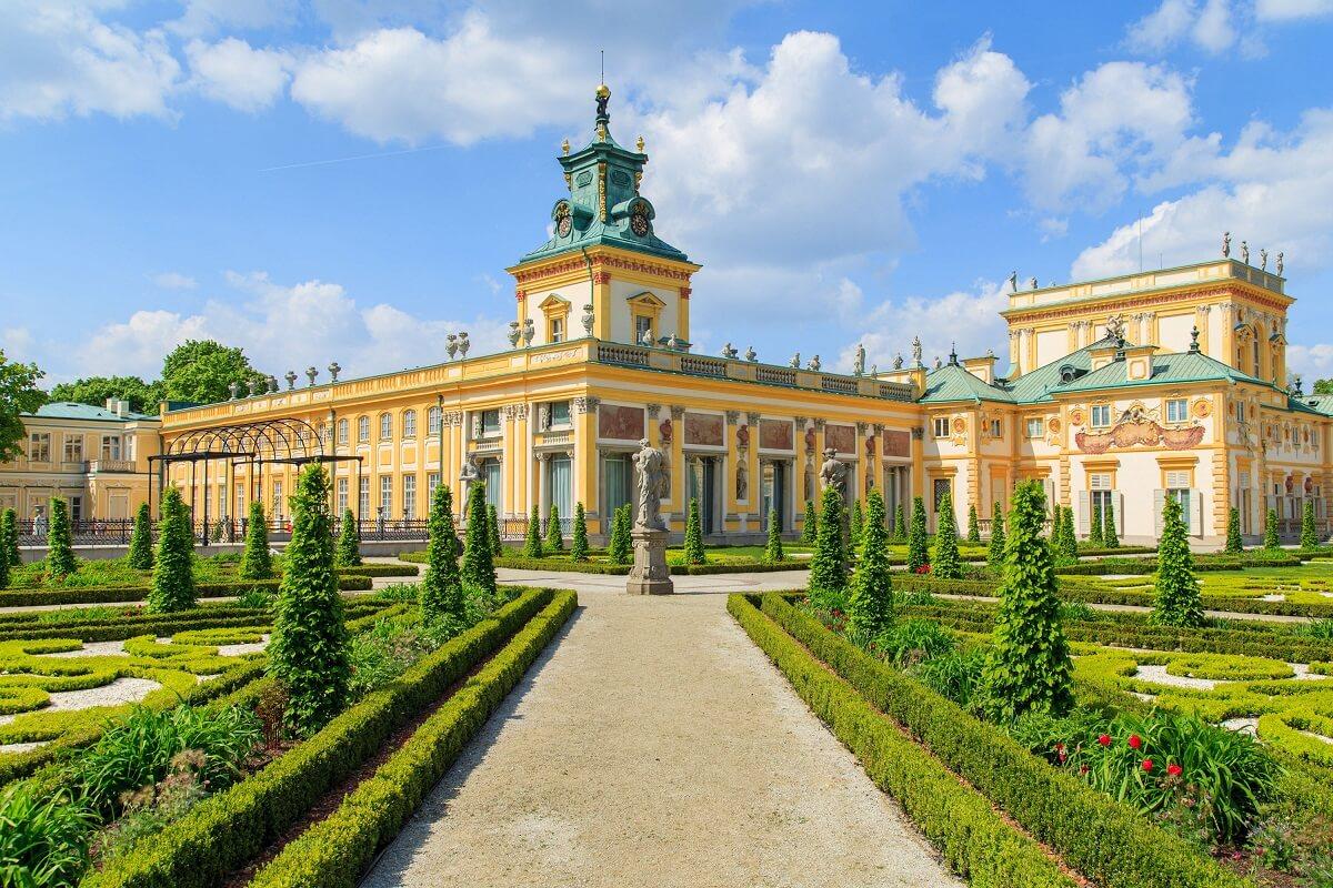 Zwiedzanie Warszawy w dwa dni? Pałac w Wilanowie