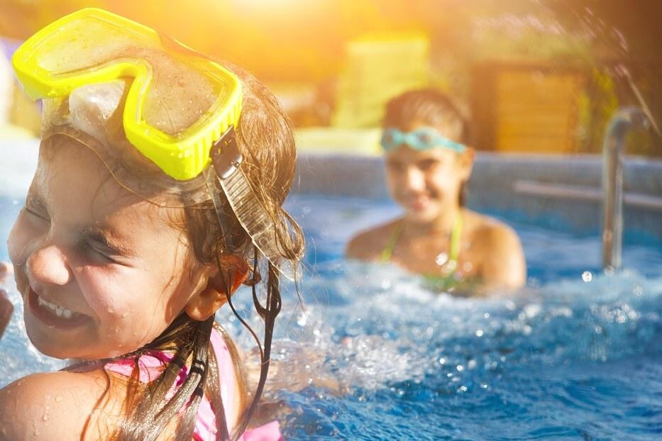 Fajne wczasy z rodziną w basenie