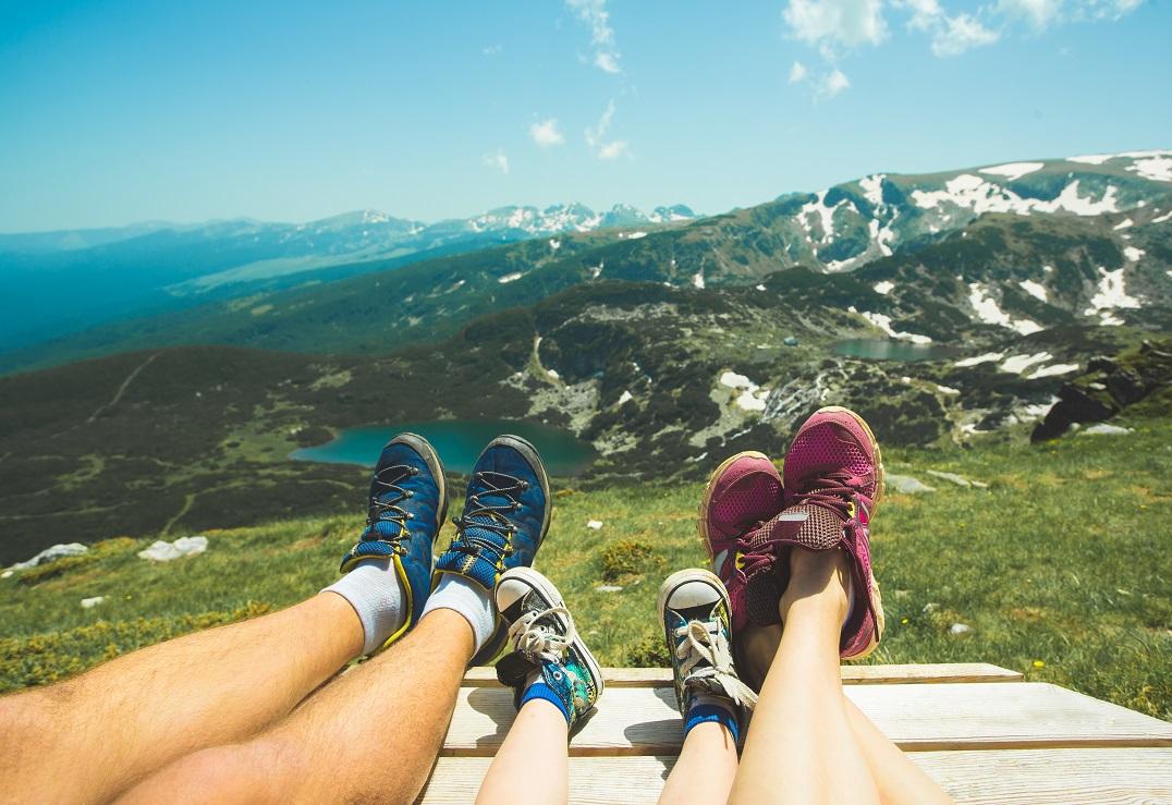Bon turystyczny w górach