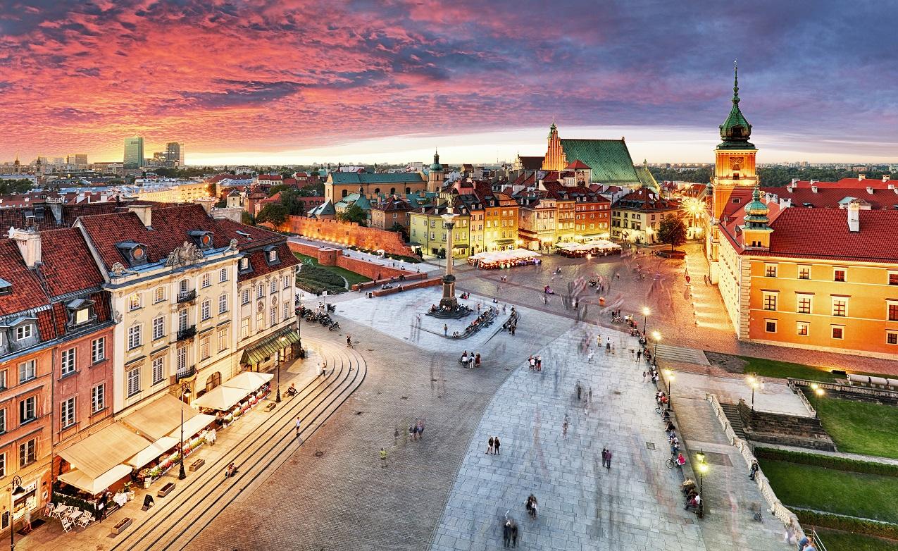 Pomysł na wyjazd na weekend - Warszawa