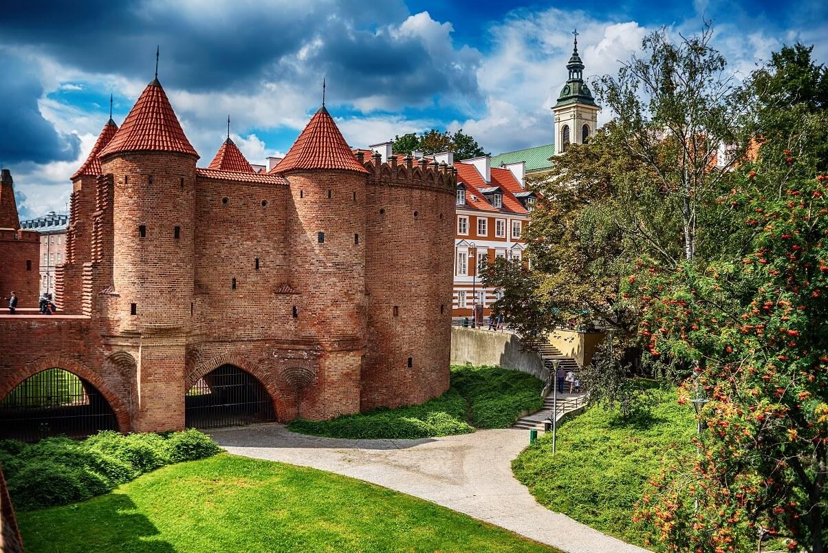 Zwiedzanie Warszawy w dwa dni? Po drugie - Barbakan