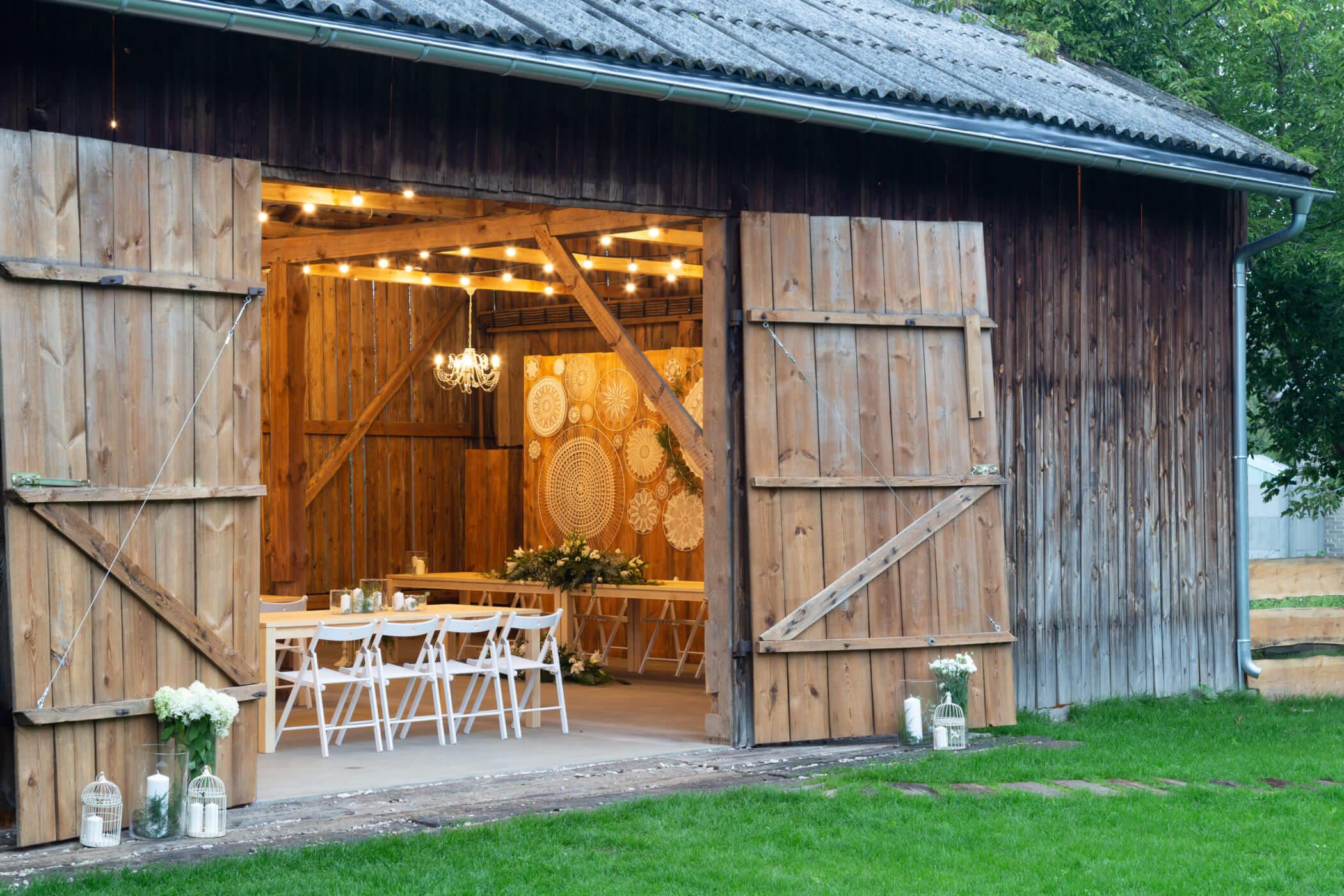 Weselicho w stodole #2. Stodoła Czereśniowy Sad