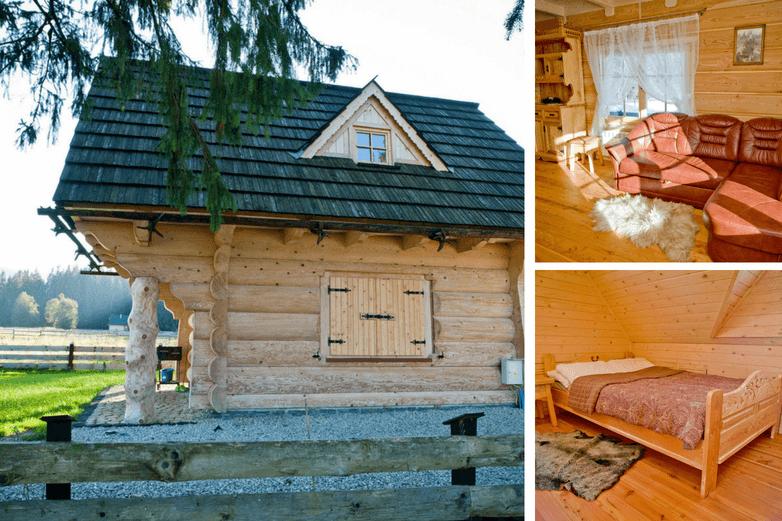 TOP 2. Regionalny Domek w Chochołowskiej. Magiczne domki drewniane