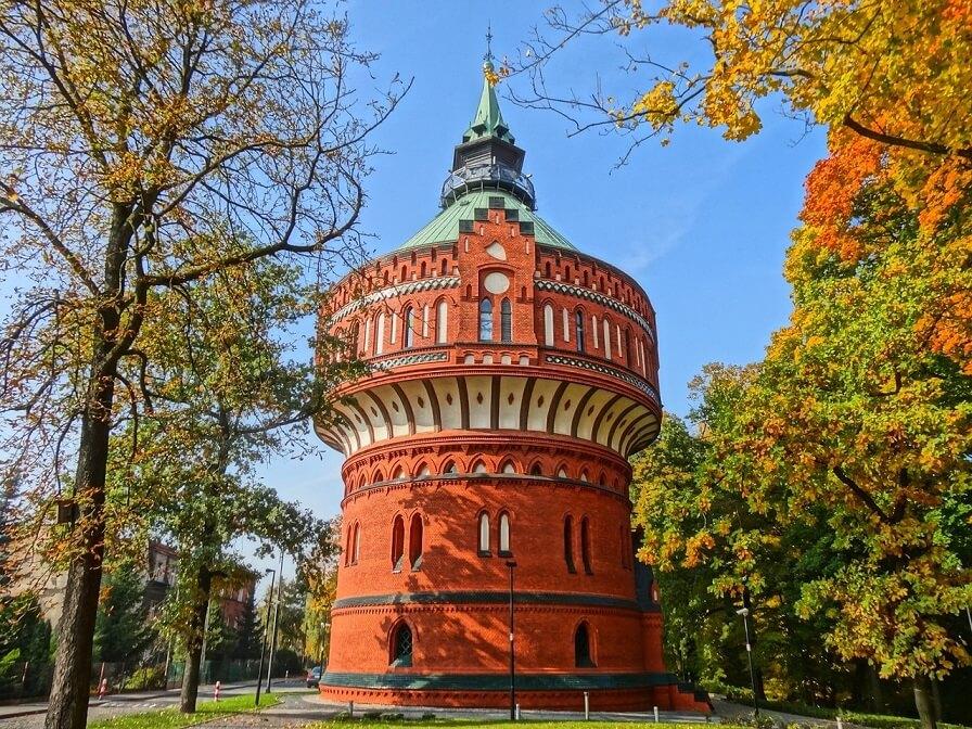 Wieża Ciśnień - Bydgoszcz atrakcje, których nie możesz pominąć