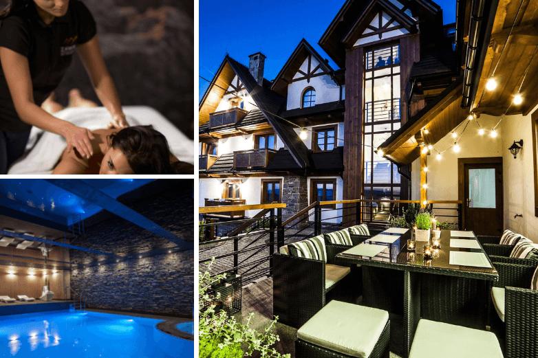 Top 2. Hotel Zawrat Białka Tatrzańska *** na romantyczny weekend w SPA