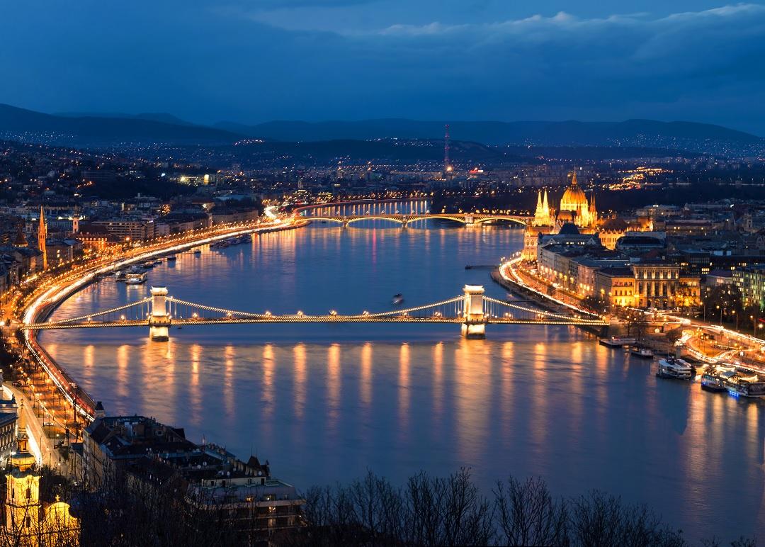 Budapeszt - stolica Węgier