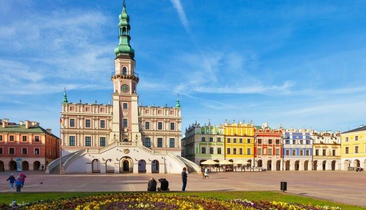 Najpiękniejsze miejsca w Polsce: Zamość
